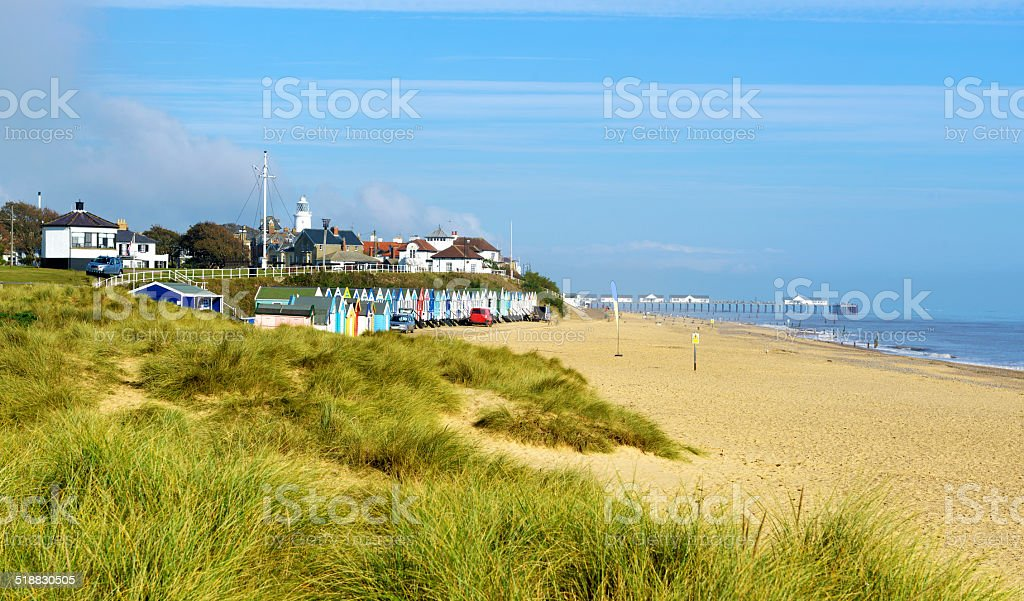 Southwold in Suffolk stock photo