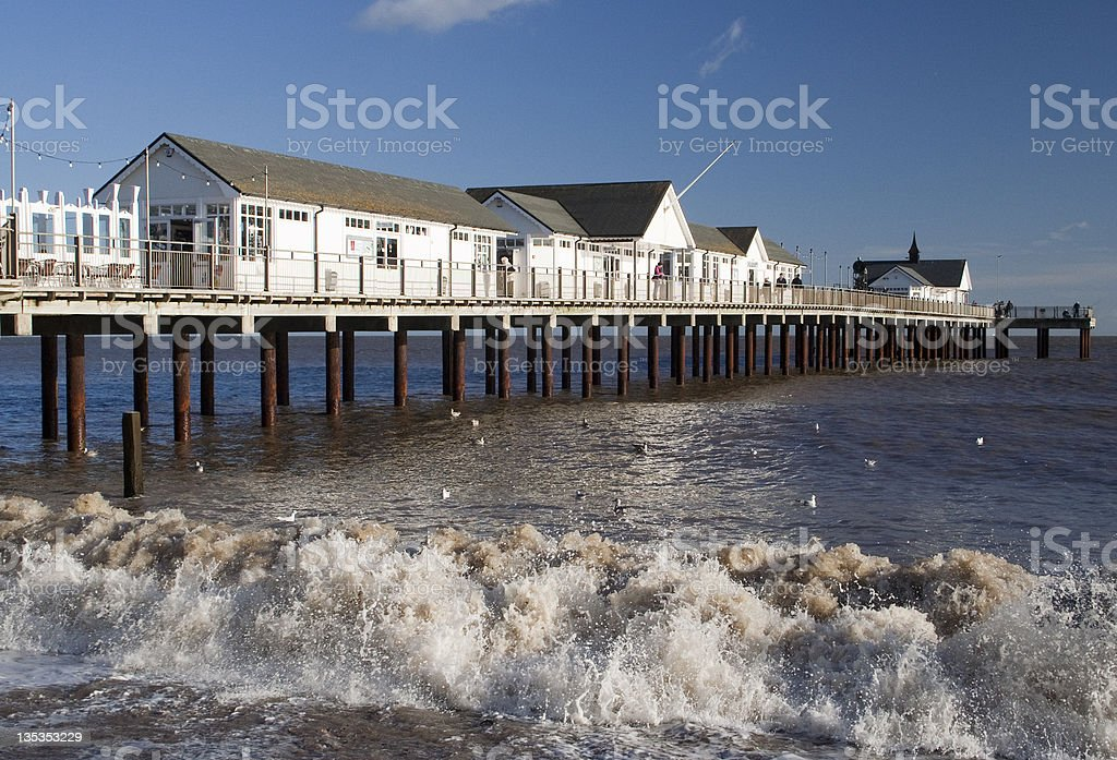Southwold Pier, Suffolk stock photo