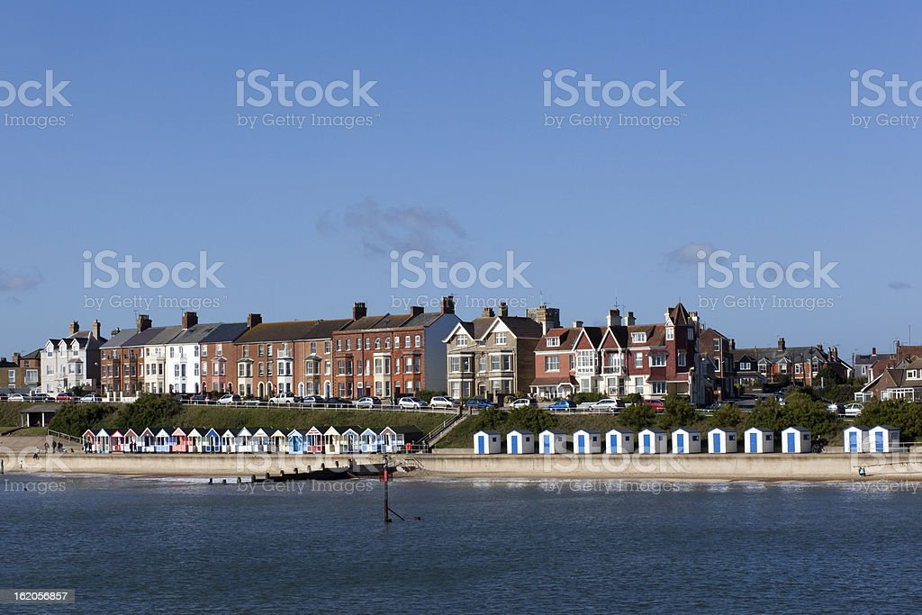 Southwold Sea Front, Suffolk, England royalty-free stock photo