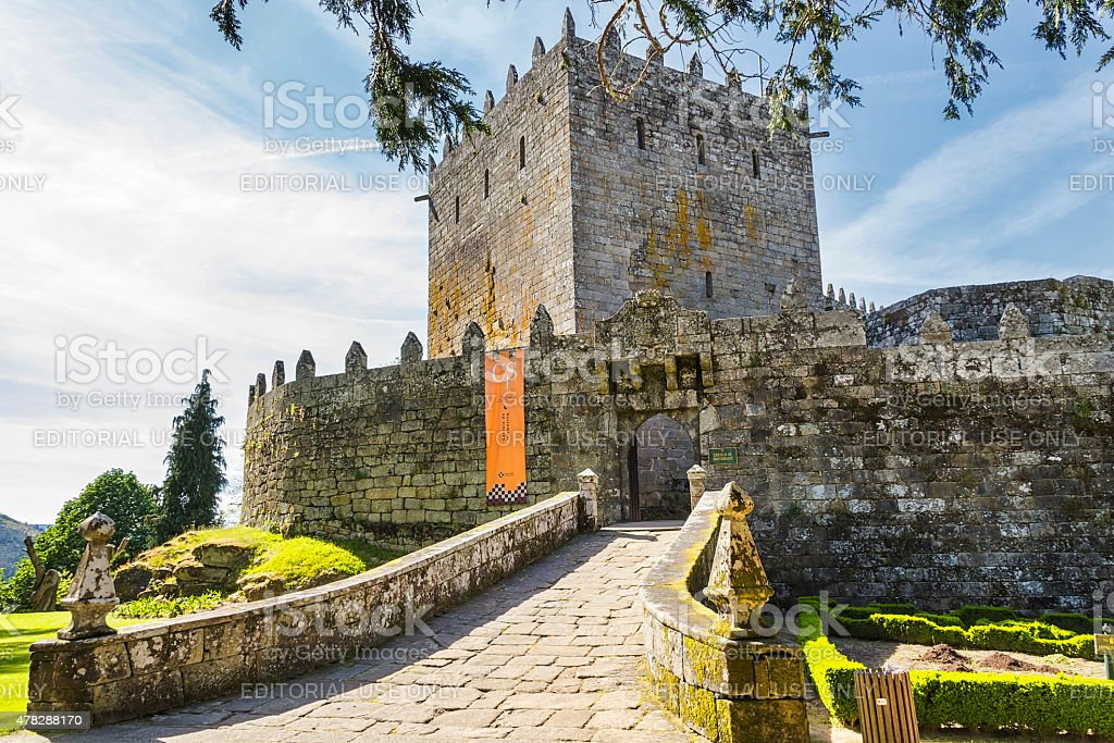 Soutomaior Castle royalty-free stock photo