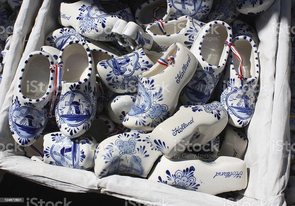 Souvenir of Holland stock photo