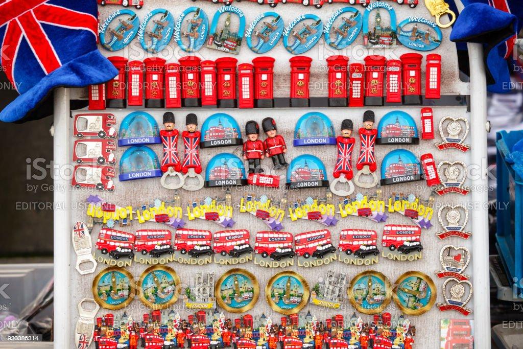 Kühlschrank Magnete : Souvenirstall mit kühlschrankmagnete in london uk stock fotografie