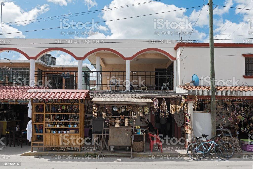 recuerdo se encuentra en el centro de bacalar, quintana roo, México - foto de stock
