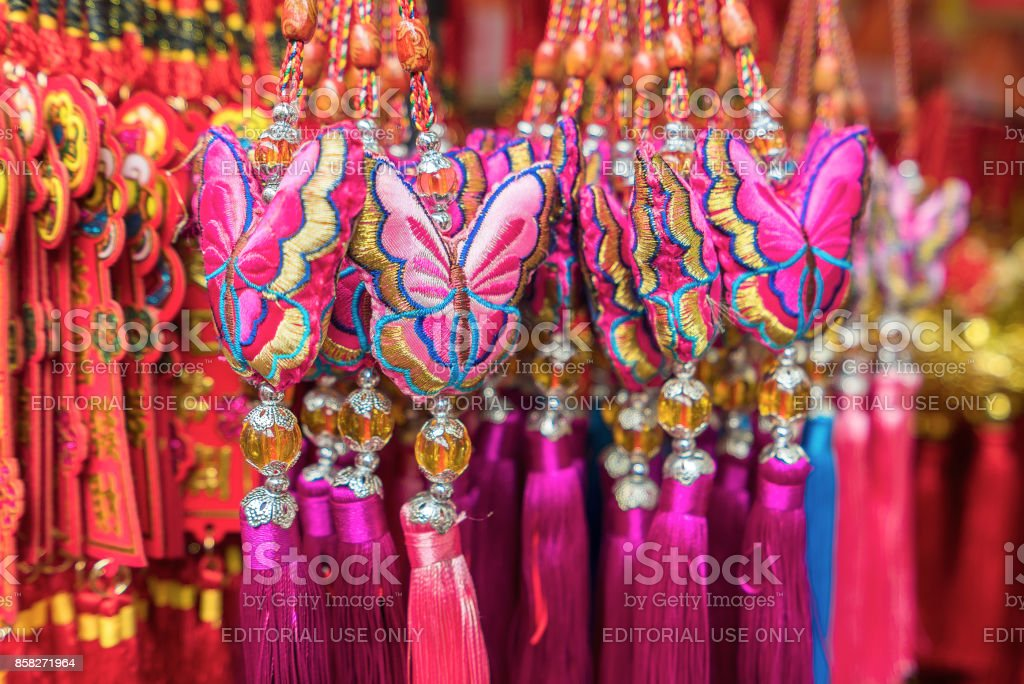 souvenirs gift and decoration for chinese new year royalty free stock photo - Chinese New Year 1964