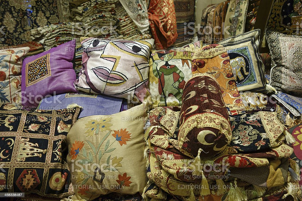 Souvenirs in Grand Bazaar royalty-free stock photo