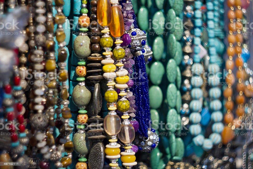 Souvenirs shop in Arab stock photo