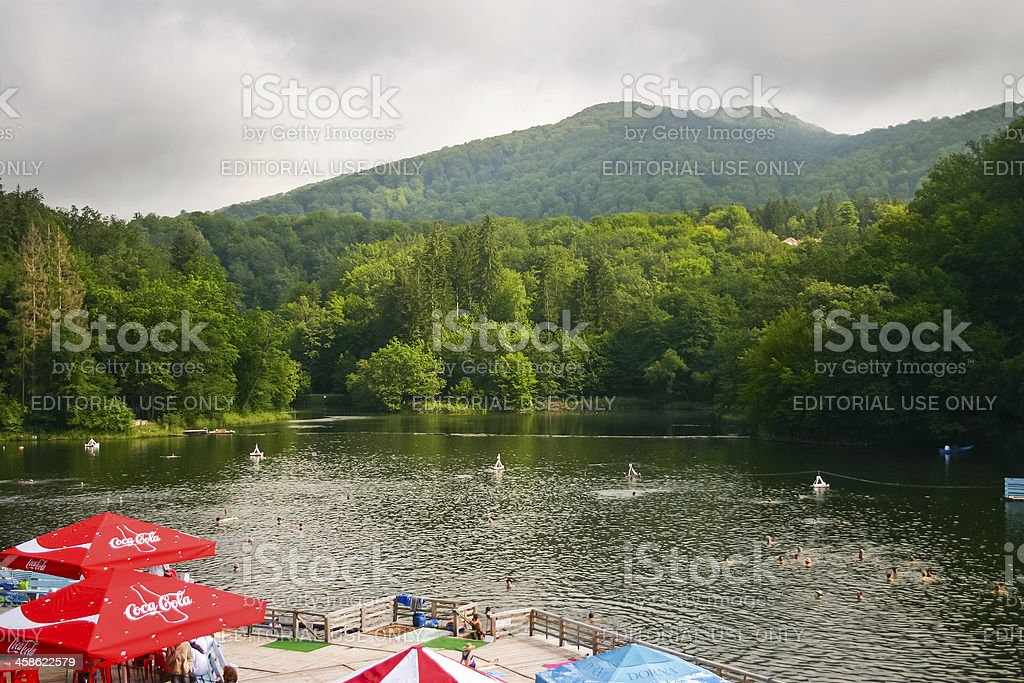 Sovata, Romania stock photo