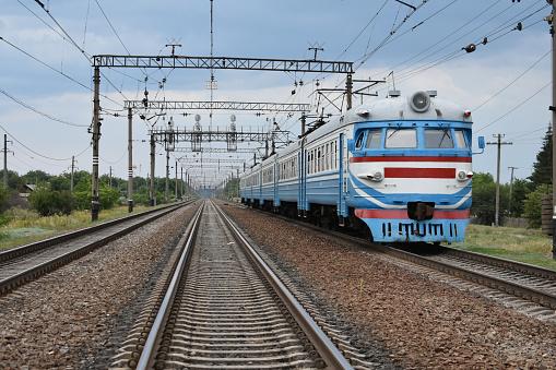 Soviet electric train