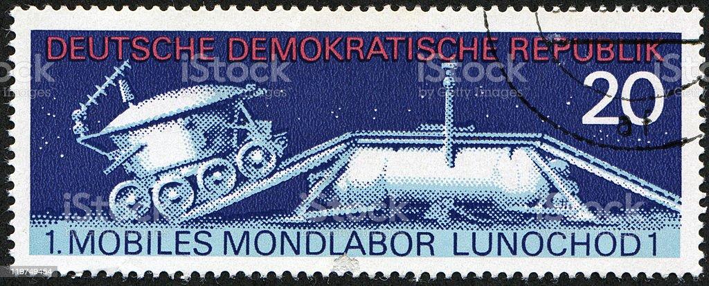 soviet moon machine Lunokhod - 1 stock photo