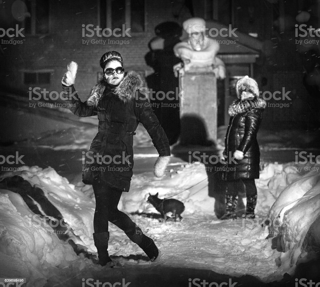 Soviet Postmodernism stock photo