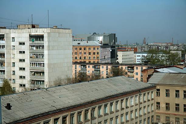 soviet residential district - fönsterrad bildbanksfoton och bilder