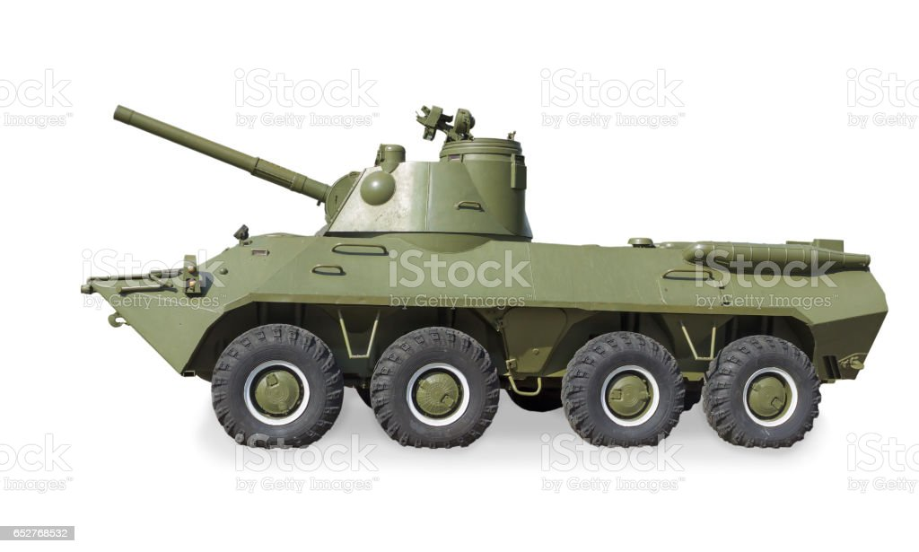 Soviet self-propelled artillery gun 2Ð¡23 'Nona-SVK' was created in 1990 stock photo