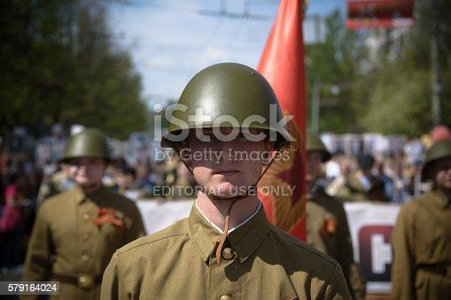 istock Soviet soldiers 579164024