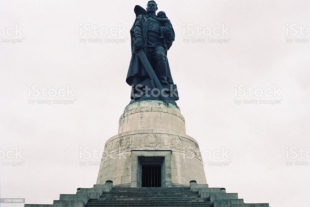 Soviet War Memorial stock photo