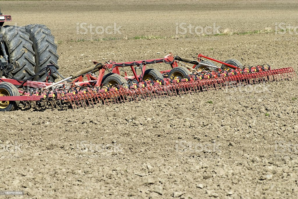 Sowing time royalty-free stock photo