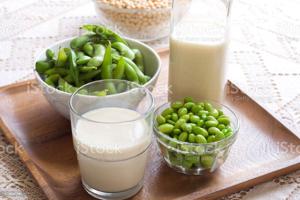 Soy Milk royalty-free stock photo