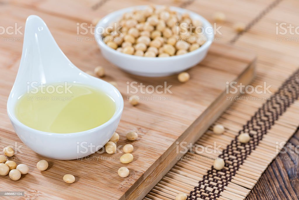 Soy Oil stock photo
