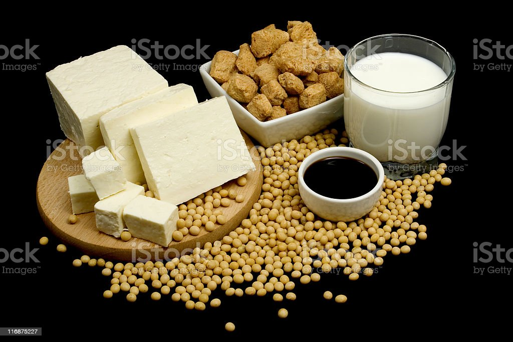 Soy products royalty-free stock photo