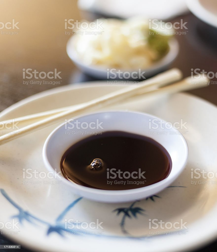 Soy Sauce royalty-free stock photo