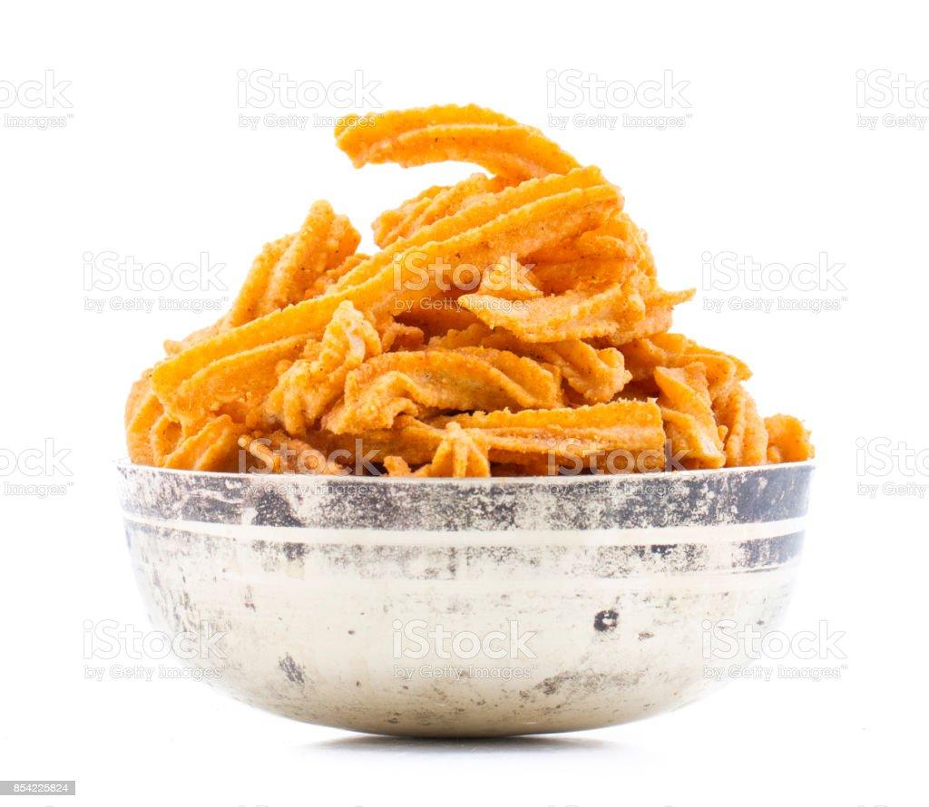 soya stick or chips snacks stock photo