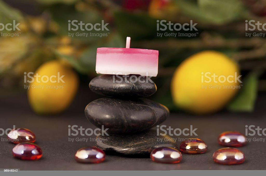 Spa and Bathroom decorations royalty-free stock photo