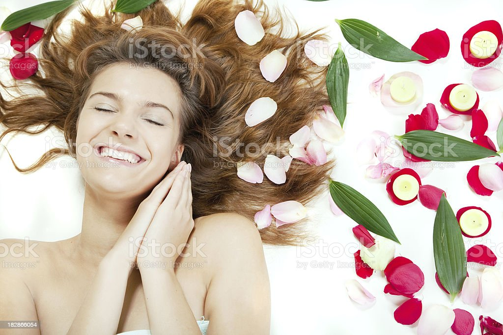 Spa and beauty royalty-free stock photo