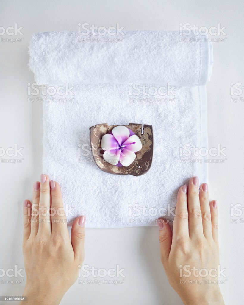 Spa and treatment stock photo