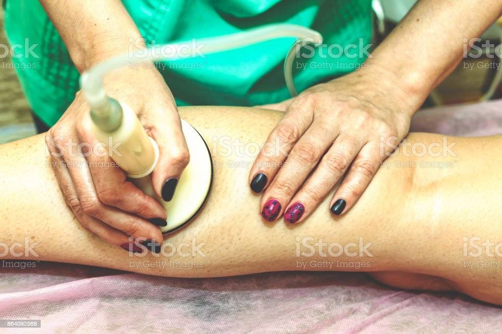 Spa. Anticellulite massage. healthy lifestyle. Spa Beauty saloon. royalty-free stock photo