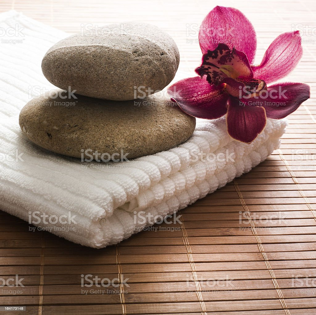 spa ambiance royalty-free stock photo