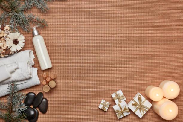 Spa background stock photo