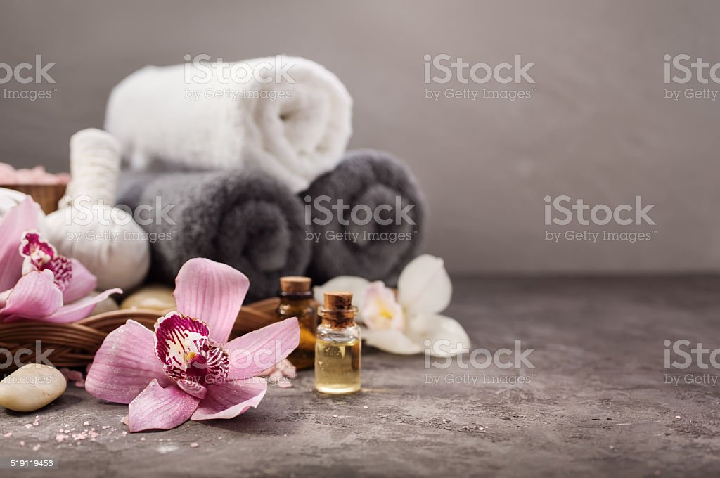 Spa background stock photo