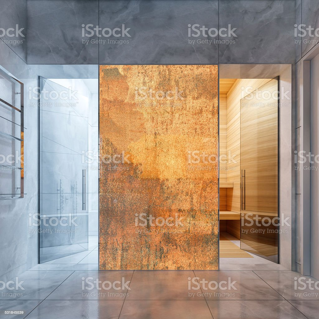 Spa Bathroom stock photo