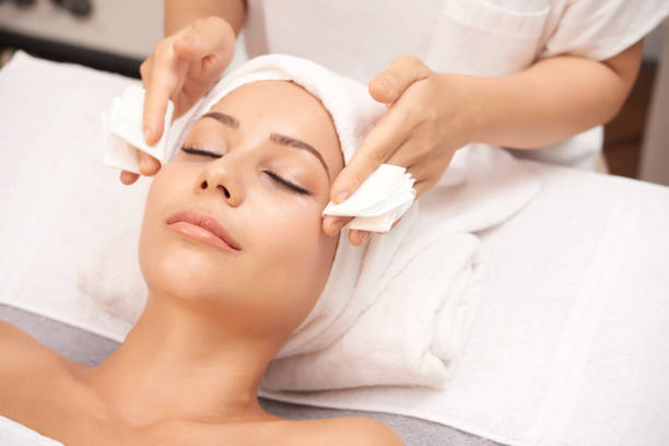 Spa beauty care stock photo