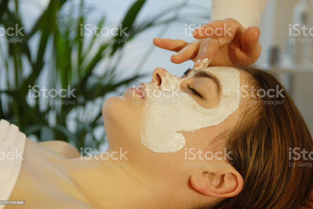 Spa Beauty Facial royalty-free stock photo