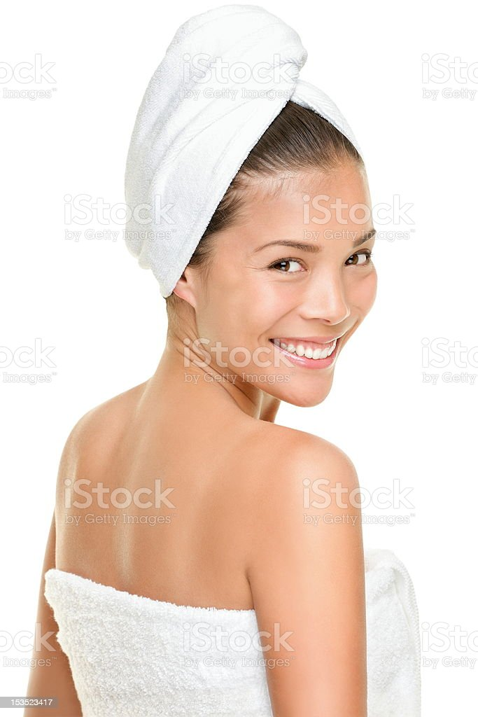 Spa beauty treatment woman royalty-free stock photo