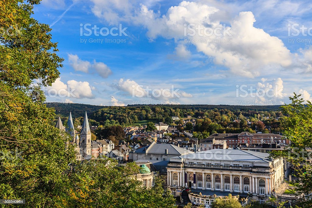 Spa, Belgium stock photo