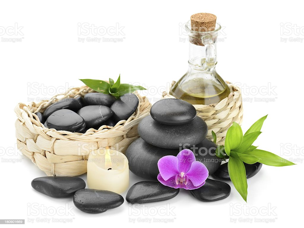 spa composition royalty-free stock photo