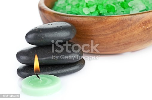 istock spa concept over white with sample text 465108769
