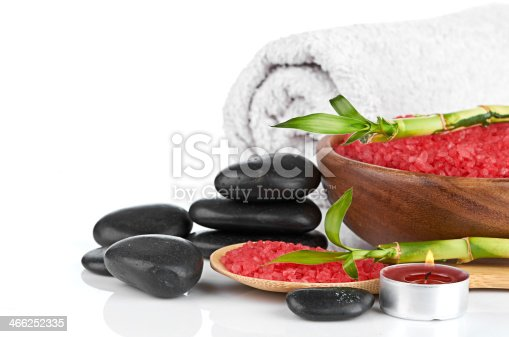 istock spa concept over white with sample text 466252335