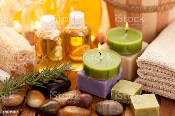 Spa Concept With Orchid Stock Photo - Download Image Now