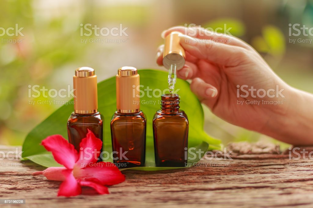 Spa cosmetics stock photo