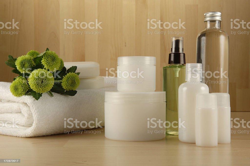 spa cosmetics series royalty-free stock photo
