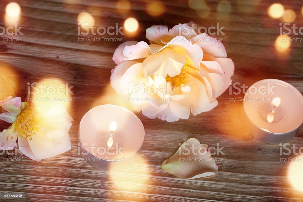 Spa decoration for a little time out stock photo