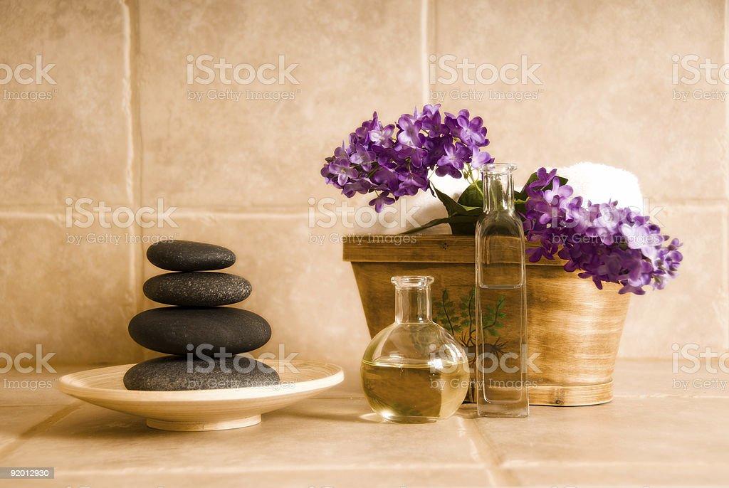 Spa design royalty-free stock photo