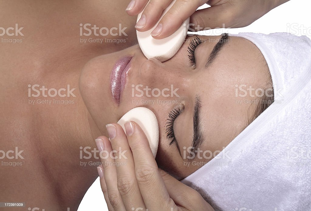 Spa Facial Treatment royalty-free stock photo