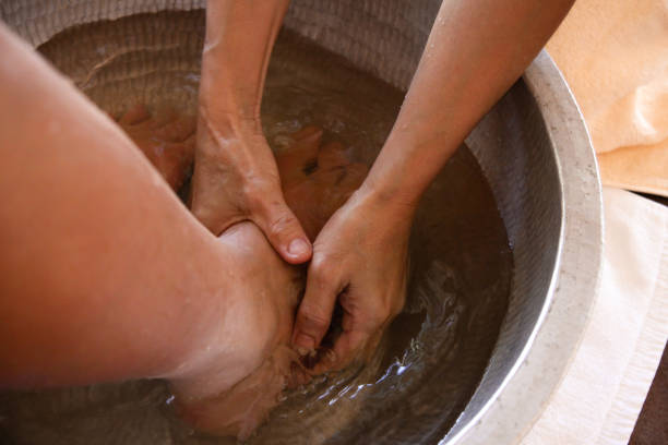 bain de pieds Spa - Photo
