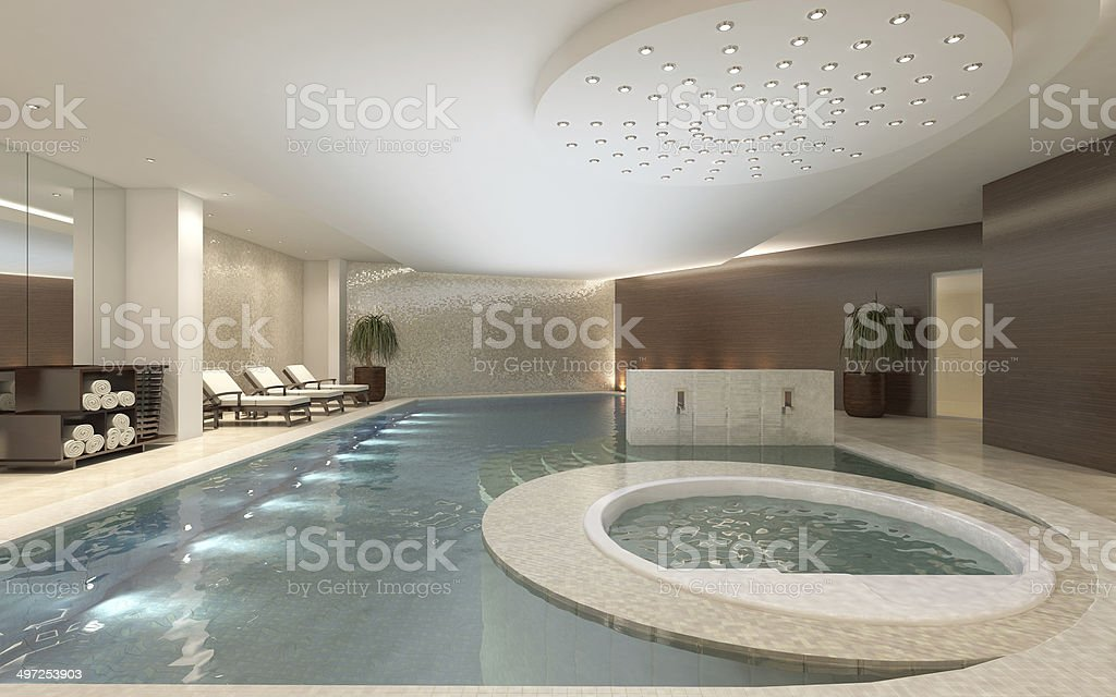 Spa Interior stock photo