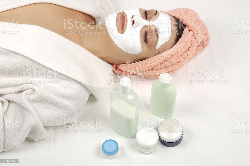 Spa salon royalty-free stock photo