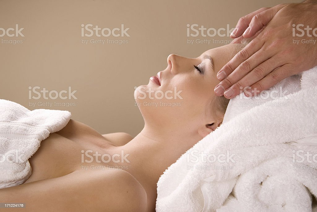 Spa Massage royalty-free stock photo