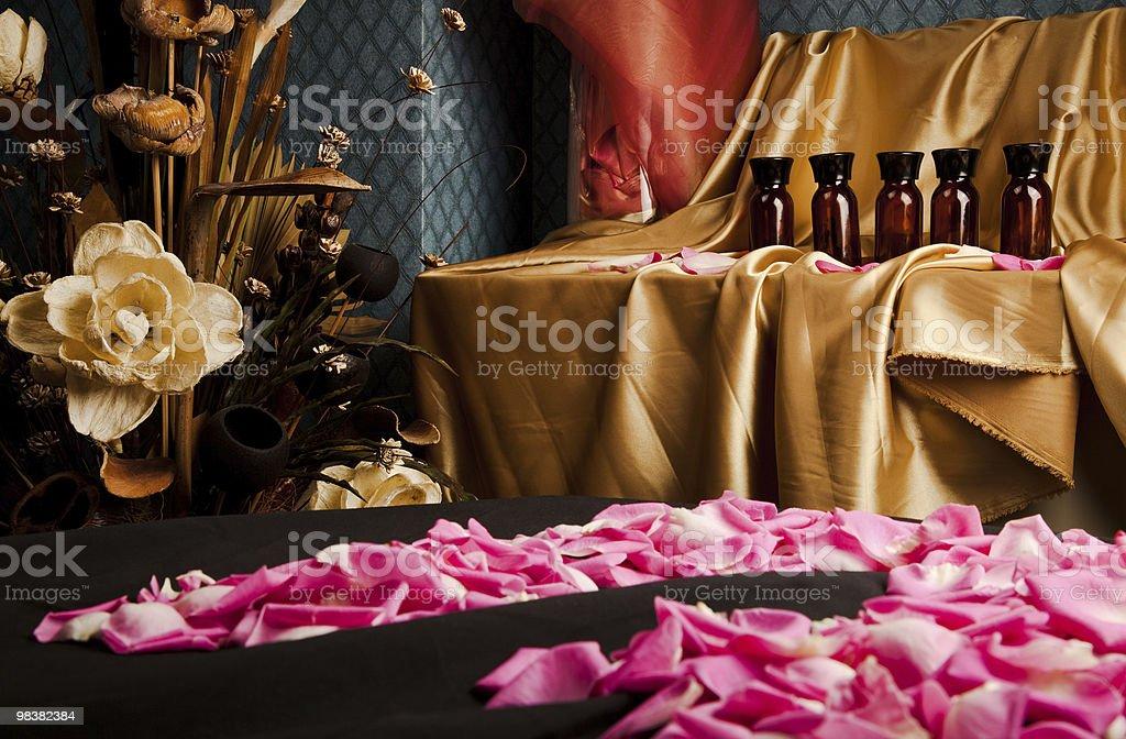 Spa massage room royalty-free stock photo